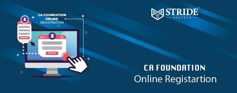 CA foundation Online Registration Stride Edutech