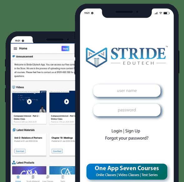 XII + CA & CMA Foundation - Stride Edutech